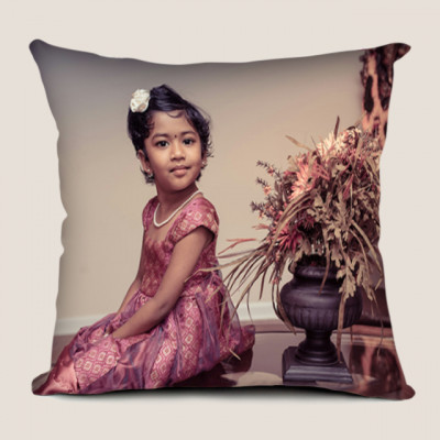 Cute Baby Canvas Cushion