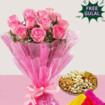 DryFruits & Roses Combo