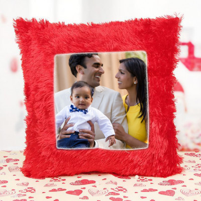 Cute Family Personalised Cushion
