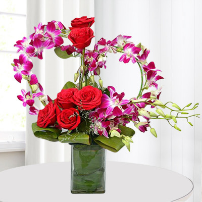 Fascinate Vase Arrangement