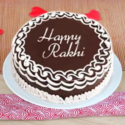 Half Kg chocolate Trufle Cake