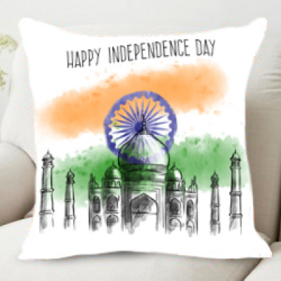 Happy Independence  Day Cushion
