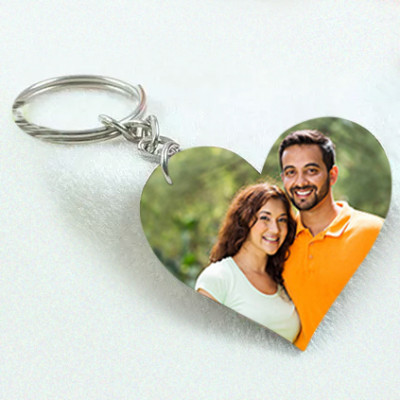 Hold My Heart Personalised Key Chain