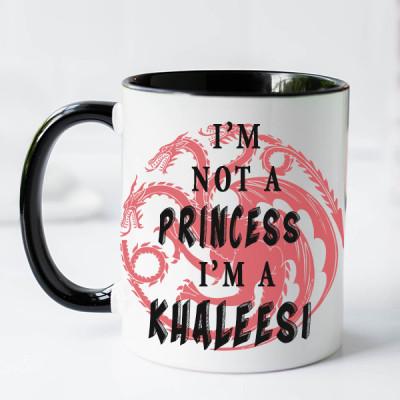 Khaleesi Personalized Targaryen Mug