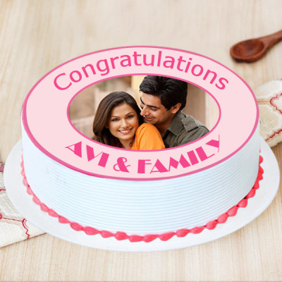 Memorable Times Congratulations Cake