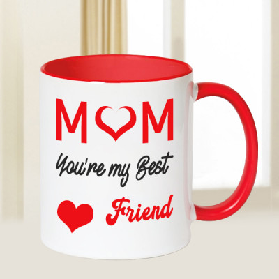 Mom Is Best Friend Mug