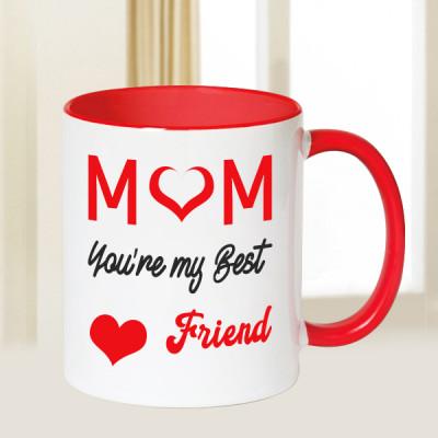 Mom Is Best Friend Mug