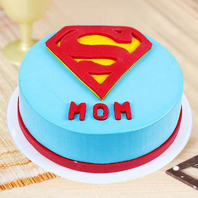 My SuperMom Cake