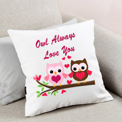 Owl Always Love You Cushion