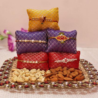 Rakhi, Almonds and Cashew