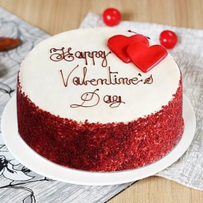 Red Velvet Cake Valentine