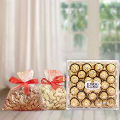Rocher With Nuts