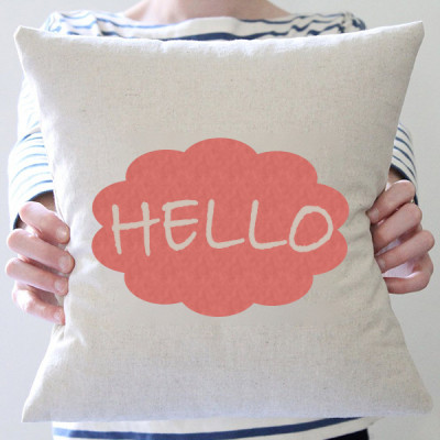 Say Hello Cushion