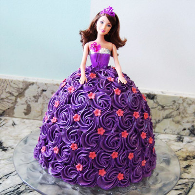 Stunning Barbie Doll Cake