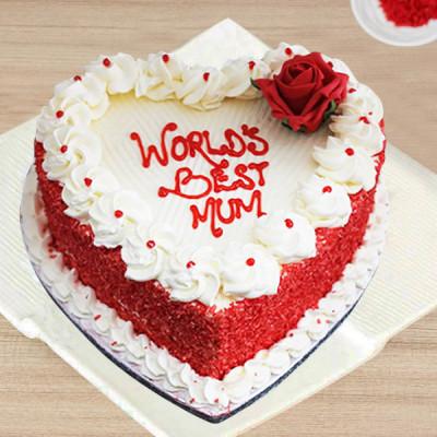 World's Best Mom Cake